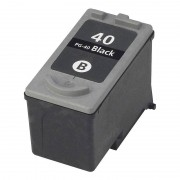 recycled / rebuilt by iColor Recycled Cartridge f.CANON (ersetzt PG-40/50), black HC 26ml