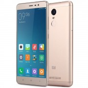 Xiaomi redmi Note 3 Pro 5.5 - 4G - Phablet Android 5.1 Quadcomm Snapdragon 650 64bit Hexa Coeur 1.8 GHz Fingerprint ID - Ram 3 Go - Rom 32 Go - Or
