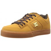 DC Men s Pure SE Skate Shoe Wheat/Dark Chocolate 6 D(M) US