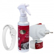 Conjunto completo Felisept Home Comfort - Difusor + recarga de 30 ml + spray + coleira