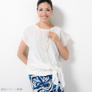 AN リュクスな着痩せドレーププルオーバー【QVC】40代・50代レディースファッション