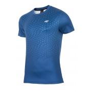 4f Dynamic Blue - férfi fitness póló