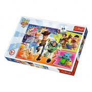 Puzzle Maxi Trefl, Toy Story 4, Aventura jucariilor, 24 piese