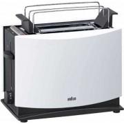 Braun MultiToast HT 450 - Grille-pain -électrique - 2 tranche - 2 Emplacements - blanc et noir