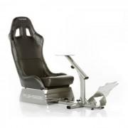Asiento de simulación de coche PLAYSEAT EVOLUTION - Cuero sintético - Negro