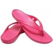 Crocs Șlapi flip-flops damă Kadee II Flip Paradise Pink 202492-6NP 41-42