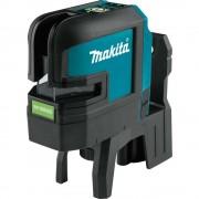 Nivela laser cu linii Makita SK106GDZ compatibila cu acumulator
