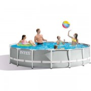 Intex Pool Prism Frame 14.614L 457x1 - Intex och badutrustning 26724N