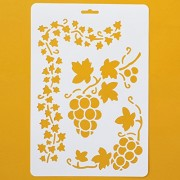 Asian Hobby Crafts Craft Stencils for Sketching Scrapbooking Kids Crafts - Abstract E