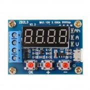 Tester Capacitate Baterii cu Descărcare pe Sarcină Externă