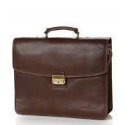 Castelijn & Beerens Handtas Verona Document Laptop Bag 15.6 inch Bruin