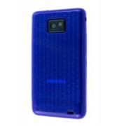 TPU Gel Case for Samsung I9100 Galaxy S2 - Samsung Soft Cover (Diamond Blue)