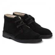 Clarks Desert Boots Black Suede Barnskor 33.5 (UK 1.5)