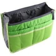 Everyday Desire Handbag Travel Storage Organizer Purse Switcher Convenient Bag Compact Stylish Trendy best for keys cosmetics -Green(Green)