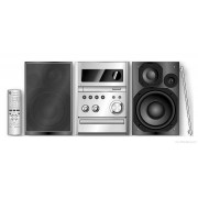 Blue City Panasonic SA-PMX3 Silver/Svart