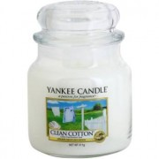 Yankee Candle Clean Cotton scented candle Classic Medium 411 g