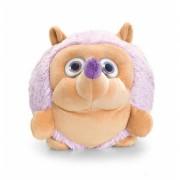 Pluche lila Egel 22 cm