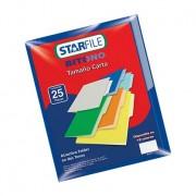 Caja de folder bitono mapasa t/carta azul marino c/25