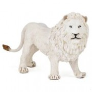 Figurina Papo Leu alb