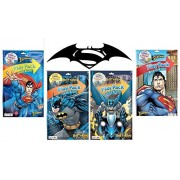 Batman vs Superman Play Pack - 4 Grab and Go Play Packs - 2 Different Packs of Each Character