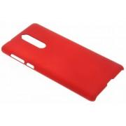 Rood effen hardcase hoesje voor de Nokia 8
