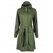 Rains Regenjassen Curve Jacket Groen