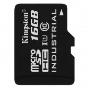 Card Kingston Industrial microSDHC 16GB 45 Mbs Clasa 10 UHS-I U1