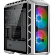 COOLER MASTER CASE H500P MESH ARGB MID TOWER, SIDE PANEL, MICROATX-MINI ITX, 2XUSB 3.2, 2XUSB 2.0, 1X3.5MM AUDIO JACK, 1X3.5MM MIC JACK, 1XARGB CONTROLLER, 1XARGB 2-TO-3 SPLITTER, 2X200MM ARGB FAN FRONT, 1X140MM ARGB FAN REAR, NERO