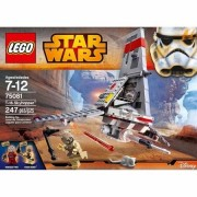 Lego Star Wars T-16 Skyhopper-building Bricks and Blocks Sets Collectible Toys for Children From 7-12 Years-includes 2 Minifigures with Weapons: A Skyhopper Pilot and a Tusken Raider- Imported From Usa.