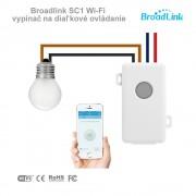 Broadlink SC1 Wi-Fi vypínač na diaľkové ovládanie