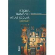 Atlas scolar ilustrat istoria Romaniei - Editia 2014 - Minodora Perovici