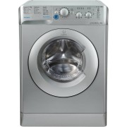 Indesit BWC61452SUK Washing Machine - Silver