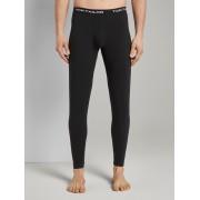 TOM TAILOR Lange Pyjama Broeken, black, XXL/8