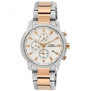 Timex E-Class Chronograph Silver Dial Mens Watch - Tw000Y507