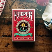 Ellusionist Keeper Playing Cards (RED) Edition Performance Finish Keepers Deck