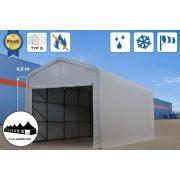 5x10x4m Wikinger raktársátor/ 720g/m2 Tűzálló ponyva