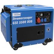 Generator de curent pe benzina GSE 5500 Guede GUDE40586 5000 W 10 Cp