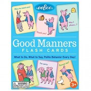 Ee Boo Good Manners Flash Cards