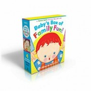 Baby's Box of Family Fun!: A 4-Book Lift-The-Flap Gift Set: Where Is Baby's Mommy'; Daddy and Me; Grandpa and Me, Grandma and Me, Hardcover/Karen Katz