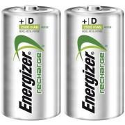 Set 2 acumulatori NiMH, D, 1,2 V, 2500 mAh, Energizer Power Plus