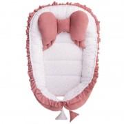 BELISIMA Hnízdečko pro miminko Belisima Angel Baby růžové 37315