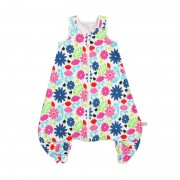 Sac de dormit 2 in 1 French Bull Flores mare