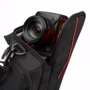 Case Logic Nylon High-Zoom camera Case DCB304K - Zwart