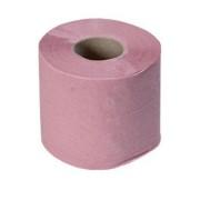 Hartie igienica normala 2 straturi roz