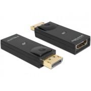 DeLock Adapter Displayport 1.1 male > HDMI female Black 65258
