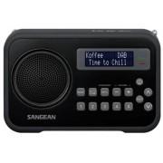 Hordozható Digitális rádióvevő fekete DPR-67 Black DAB+ FM-RDS
