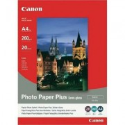 Canon Photo Paper Plus Glossy II PP-201 13x18cm 20 listova foto papir za ispis fotografije Gloss 265gsm ISO92 0.27mm 5X7 20 sheets PP201S2 BS2311B018AA BS2311B018AA