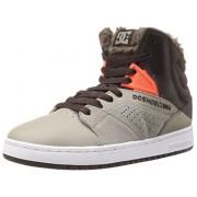 DC Men s Seneca High WNT Skate Shoe Brown/Grey 7.5 D(M) US