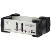 ATEN CS1732B - KVM Switch 2-Port USB/VGA - USB-Hub