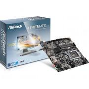 ASRock H110TM-ITX R2.0 Intel H110 LGA 1151 (Socket H4) Mini ATX scheda madre